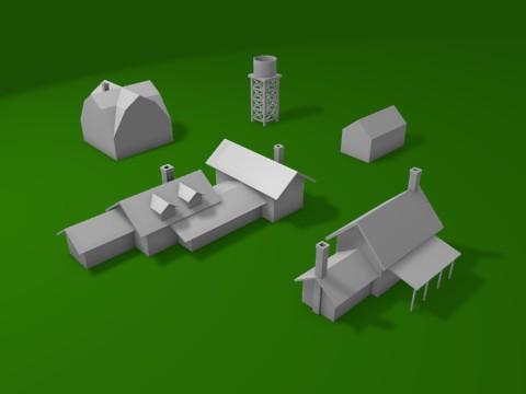 Farm 3D Models