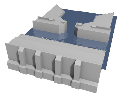 current revision of the dam model