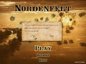 allow Nordenfelt anonymous statistics